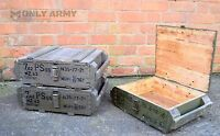 Soviet Army Issue RG42 F1 Wooden Storage Box Grenade Ammo Tool Wood With Handles