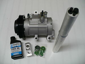 New A//C AC Compressor Kit 2006-2009 Hummer H3 3.5L // 3.7L