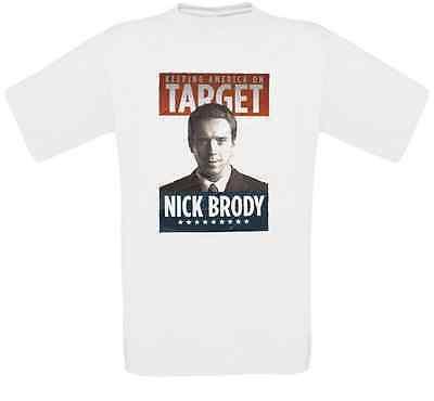 Nicholas Brody Langley Serie Kult T-Shirt alle Größen NEU
