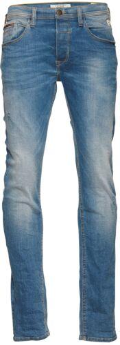 Blend Uomo Jeans TWISTER Pantaloni Middle MIDDLE BLUE DENIM SLIM FIT STRETCH NUOVO 20