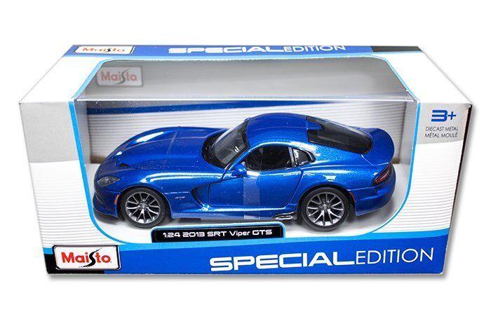 Maisto 1     24 2013 dodge viper srt gts ein diecast modell auto blau (31271) 493689