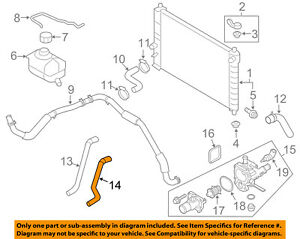 GM OEM Radiator-Heater Hose 95214145 | eBay | 2004 Chevy Aveo Engine Heater Hoses Diagram |  | eBay