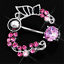 Women-Pink-Shine-Crystal-Flower-Belly-Ring-Navel-Studs-Body-Piercing-Jewelry thumbnail 5
