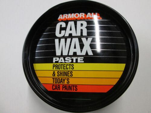 Vintage Armor All Car Wax Paste 14 oz Can
