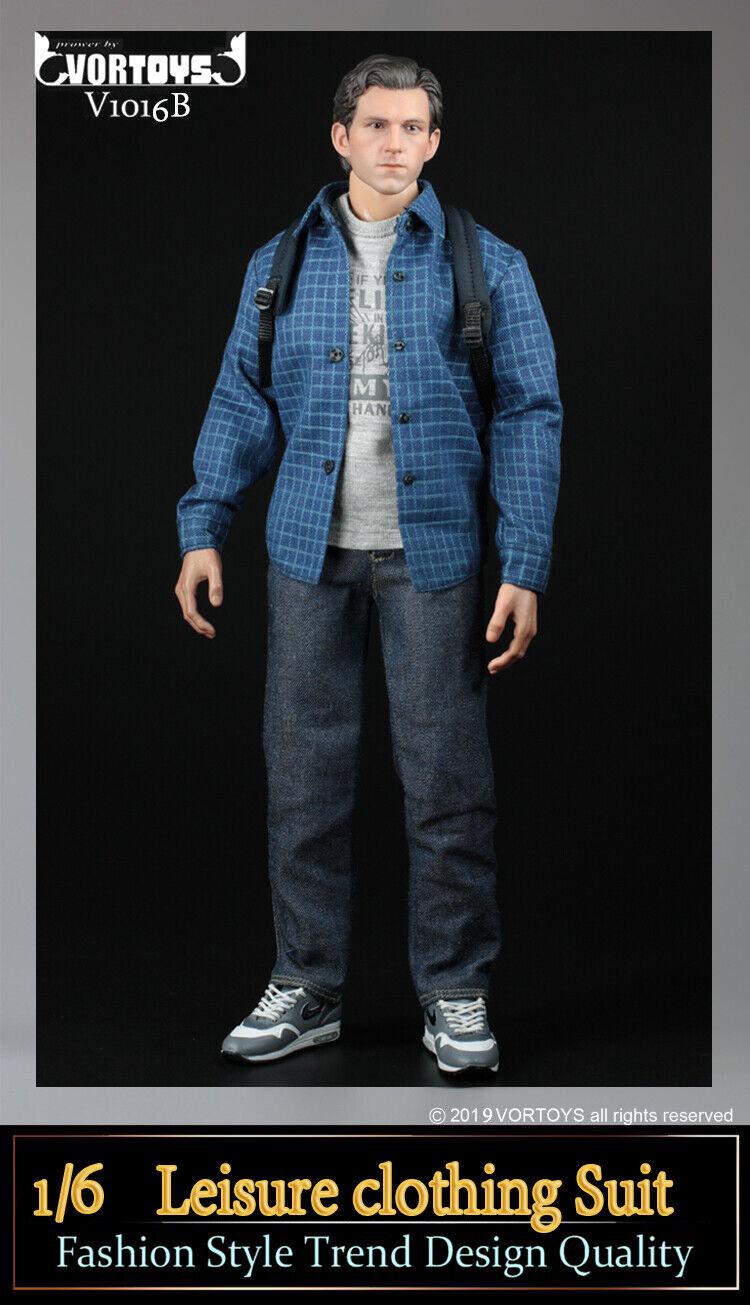 VORgiocattoli 16 Leisure capi di abgreeliaessito Suit modellolo Fit 12'' Male cifra V1016B giocattolo NO corpo