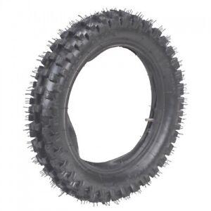 Crossreifen-Reifen-mit-Schlauch-80-100-12-80-100-12-Dirtbike-Kindercross-Cross