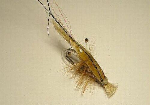 Epoxy Grass Shrimp Tan 1//0  Redfish Bonefish