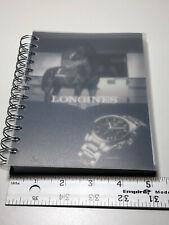 Longines 5x7 2014 2025 Notebook Notes Paper Calendar Original Rare Planner