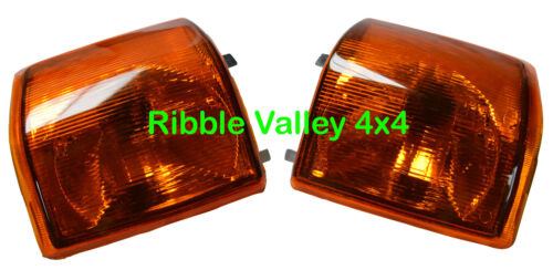 LAND ROVER DISCOVERY 1 LH /& RH FRONT INDICATOR LAMPS XBD100770 /& XBD100760