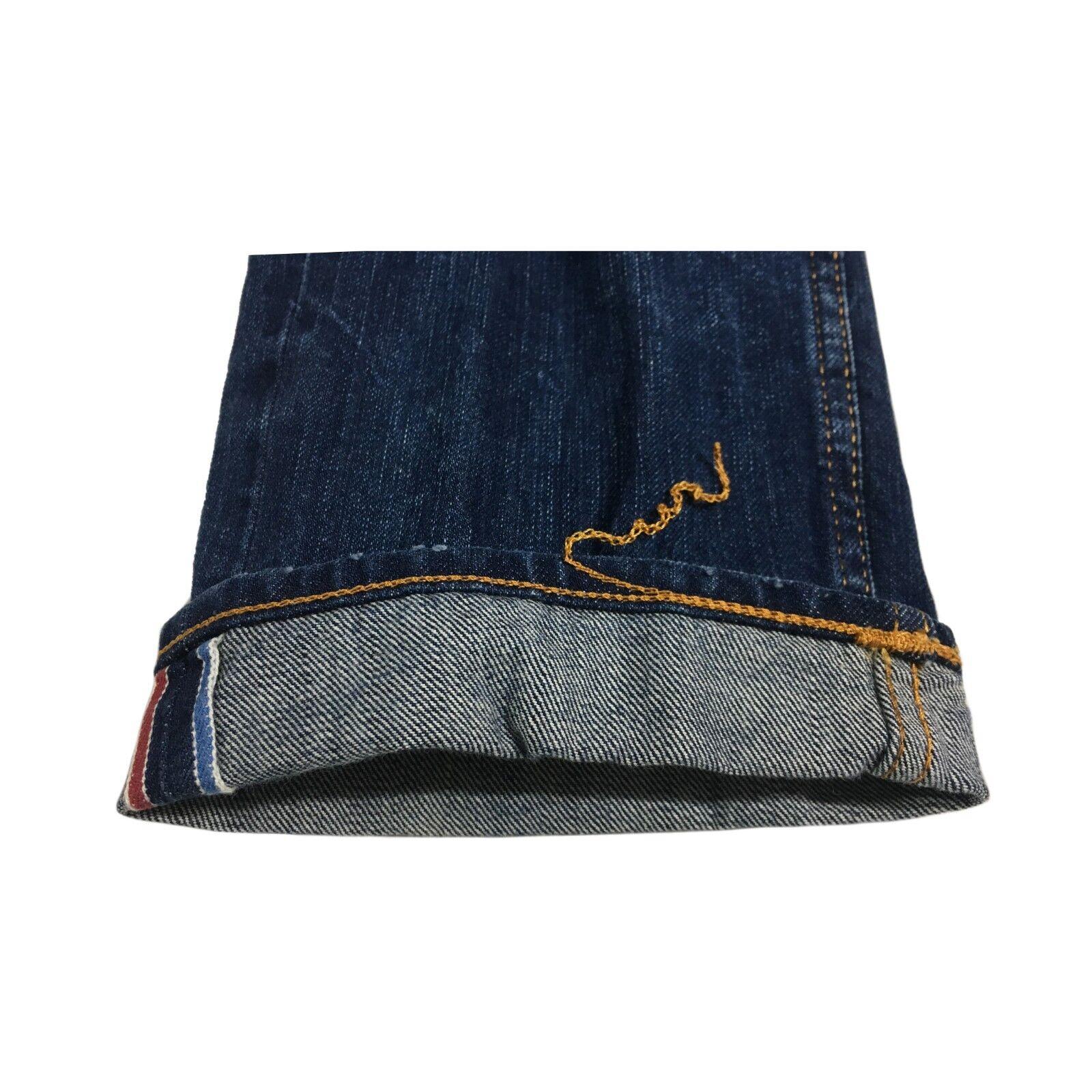 CARE LABEL jeans mod BLEU 402 HERITAGE 12 oz BLEU mod LINE 100% coton MADE IN ITALY 936e87