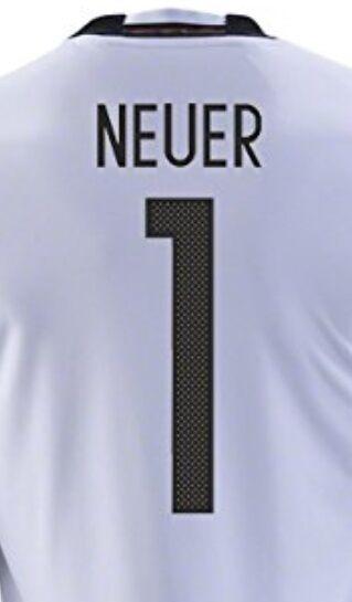 Trikot Adidas DFB 2016-2018 Home Damen - Neuer 1  EM Deutschland