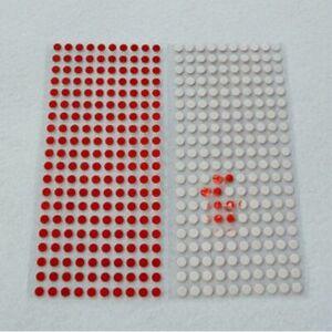 100 Sigilli antieffrazione in materiale omologato marca 3M sensibili all'acqua