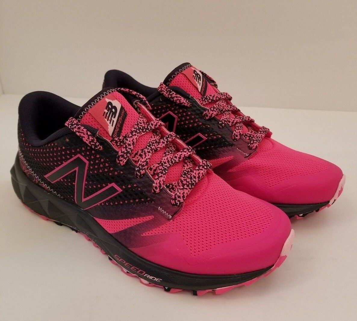 New Balance NB 690AT All Terrain Pink Navy Trail Running Shoes Donna Size 6.5