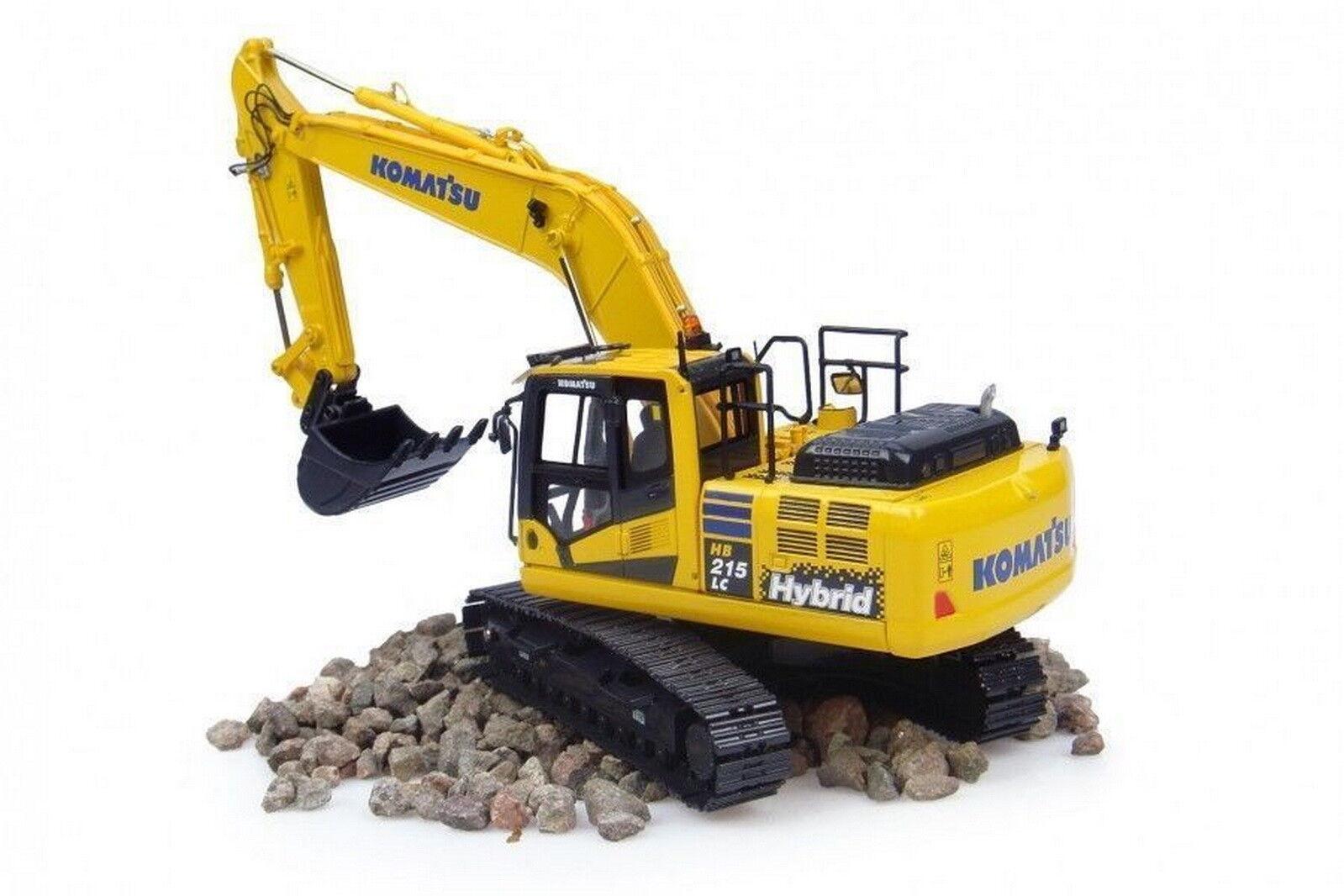 UH Universal Hobbies 1 50 Komatsu HB215LC-2 Excavator DieCast Model Model Model UH8095 e76063