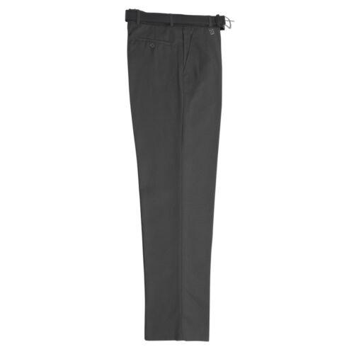 "24/""-42/"" BT3066 Zeco School Uniform Boys Long Leg Tailored Fit Trouser Belted"