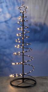 weihnachtsbaum aus metall 120 cm 100 warmwei e led stahl. Black Bedroom Furniture Sets. Home Design Ideas