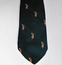 Polo pony tie Monsieur Bernard American Collection sport equestrian made in USA