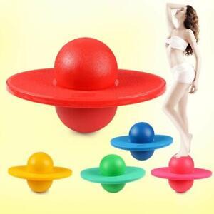 Grand Enfants Kid Space Hopper Saut Bounce Amusement Balle Jouet Extérieur avec une pompe