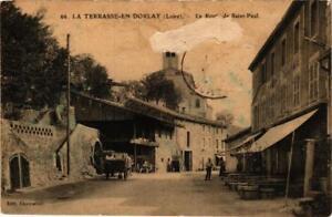 CPA-La-Terrasse-sur-Dorlay-La-Route-de-Saint-Paul-663803