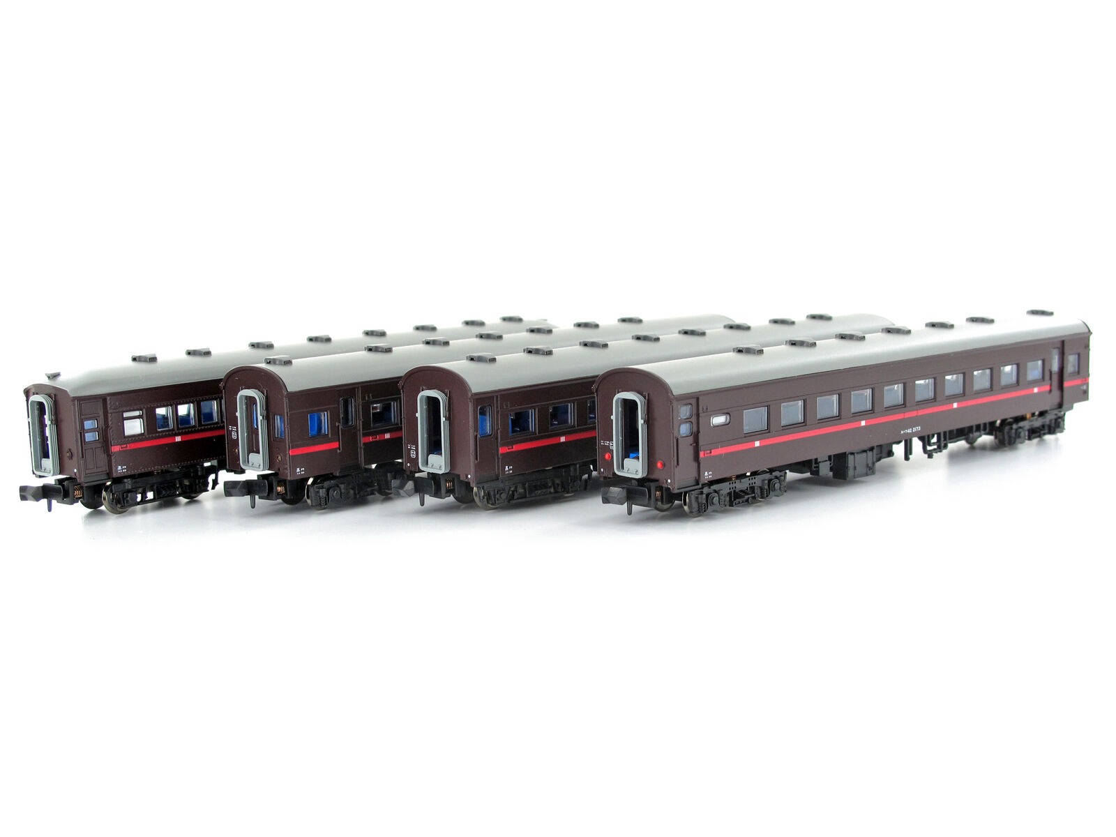 MICROACE a6983-persone Wagenset ausflugszug JNR 4 pezzi-Spur N-NUOVO