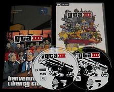 GTA III 3 Pc Versione Ufficiale Italiana Grand Theft Auto ••••• COMPLETO