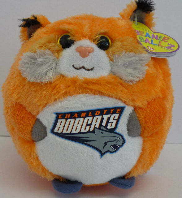 5baad62a421 New TY Beanie Charlotte Bobcats Plush Soft Toy Cuddly Teddy Ball Collectable