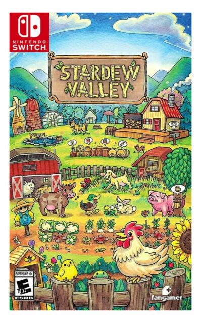 Stardew Valley -- Standard Edition Nintendo Switch, 2020  - $16.50
