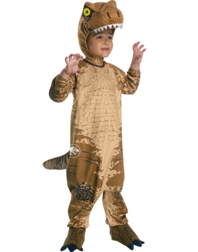 Jurassic World 2 Toddlers T Rex Dinosaur Halloween Costume