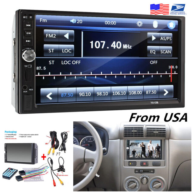 HD Rear View 2 din Radio Bluetooth FM MP5 Player with Digital Touch Screen Bravo