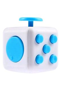 NEW FIDGET CUBE Cool Novelty Cheap Gadget FUNGift for Him Men Boys Toy Kid Girl