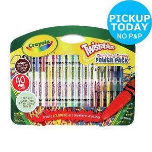 Crayola Twistables 40 Piece Sketch and Draw Set