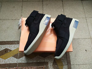 Charmant Nike Air X Fear Of God Raid 180 Black At8087-002 Eu 40.5 Us 7.5