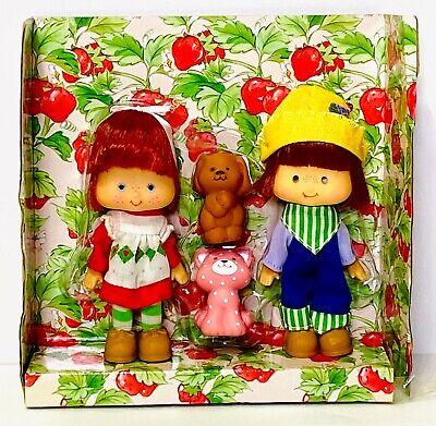 Vintage Strawberry Shortcake Halloween Tunic Costume Huckleberry Pie Doll Panels