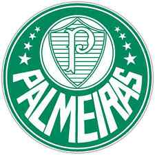 "Palmeiras FC Brazil Football Soccer Car Bumper Sticker Decal 4.5""X4.5"""