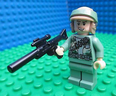 Lego Star Wars Figur Endor Rebel Trooper mit Blaster Gewehr »NEU« aus 9489