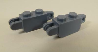 LEGO 30386 1x2 LOCKING W// 1 FINGER VERITICAL END /& 2 FINGERS VERTICAL END NEW