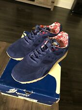 Saucony Elite Shadow 6000 Red Blue Suede 13 Bodega Packer