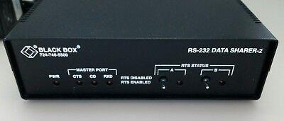 Black Box 6-Port RS232 DB25 Passive Splitter