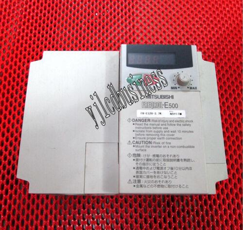 FR-E520-3.7K Mitsubishi inverter 3.7KW 220V 60 days warranty