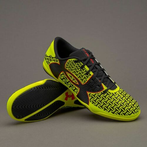 Hi Vis Yellow Under Armour Clutchfit Force 2.0 ID Rocket Red Black