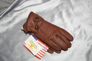 Rodeo-Gloves-Longhorn-Lederhandschuhe-Chopper-Handschuhe-Grose-M-S10