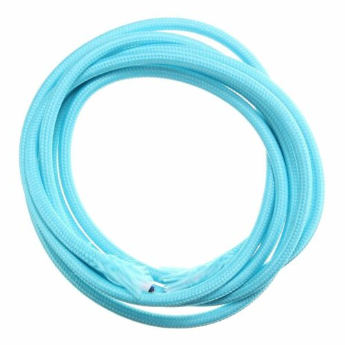 Vintage Twist Braided Fabric Light Cable Cloth Electric Wire 200cm 2 Cord Colors