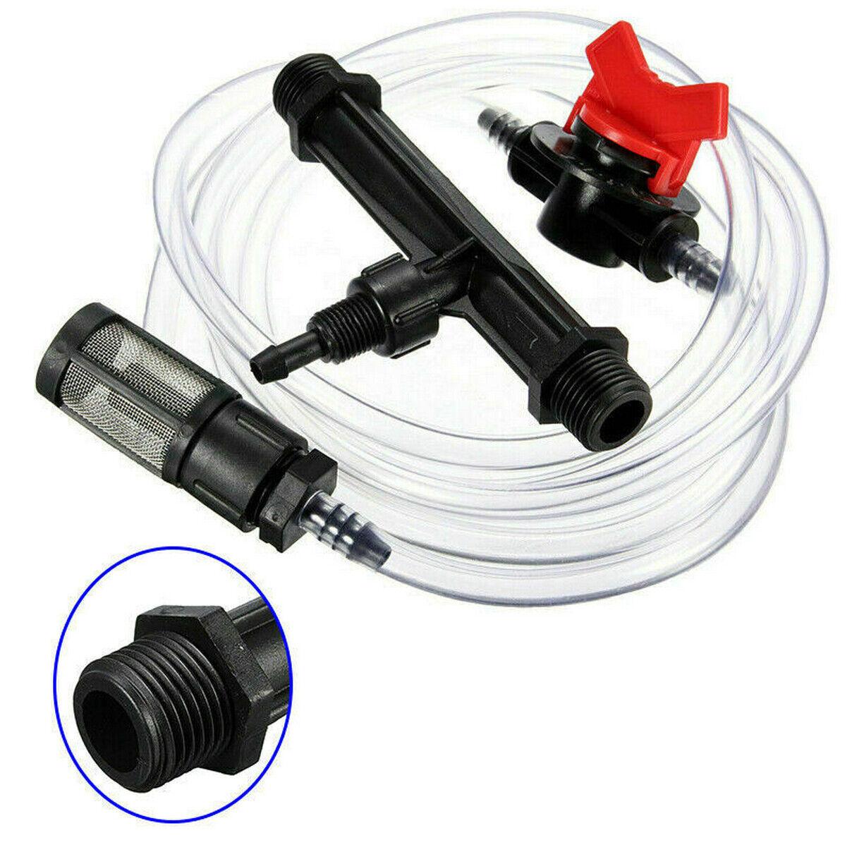 "3//4/"" 1/"" Irrigation Venturi Fertilizer Mixer Injector Garden Water Device TubeVe"