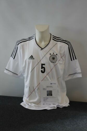 DFB Authentic Version Mats Hummels signiert XL Deutschland Trikot