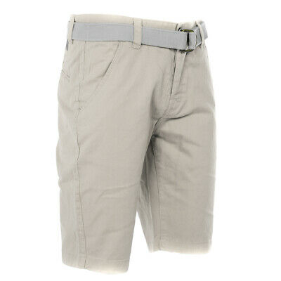 Belted Summer Chino Shorts Mens Size