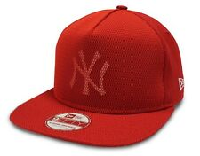 New York Yankees Cap New Era Mesh Core 9FIFTY Red A-frame Snapback Cap New S/M