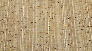 Honey Turquoise Mauve Rust Discount Fabric OPEN WEAVE DRAPERY Cream Blue /& Violet Stripe By the Yard