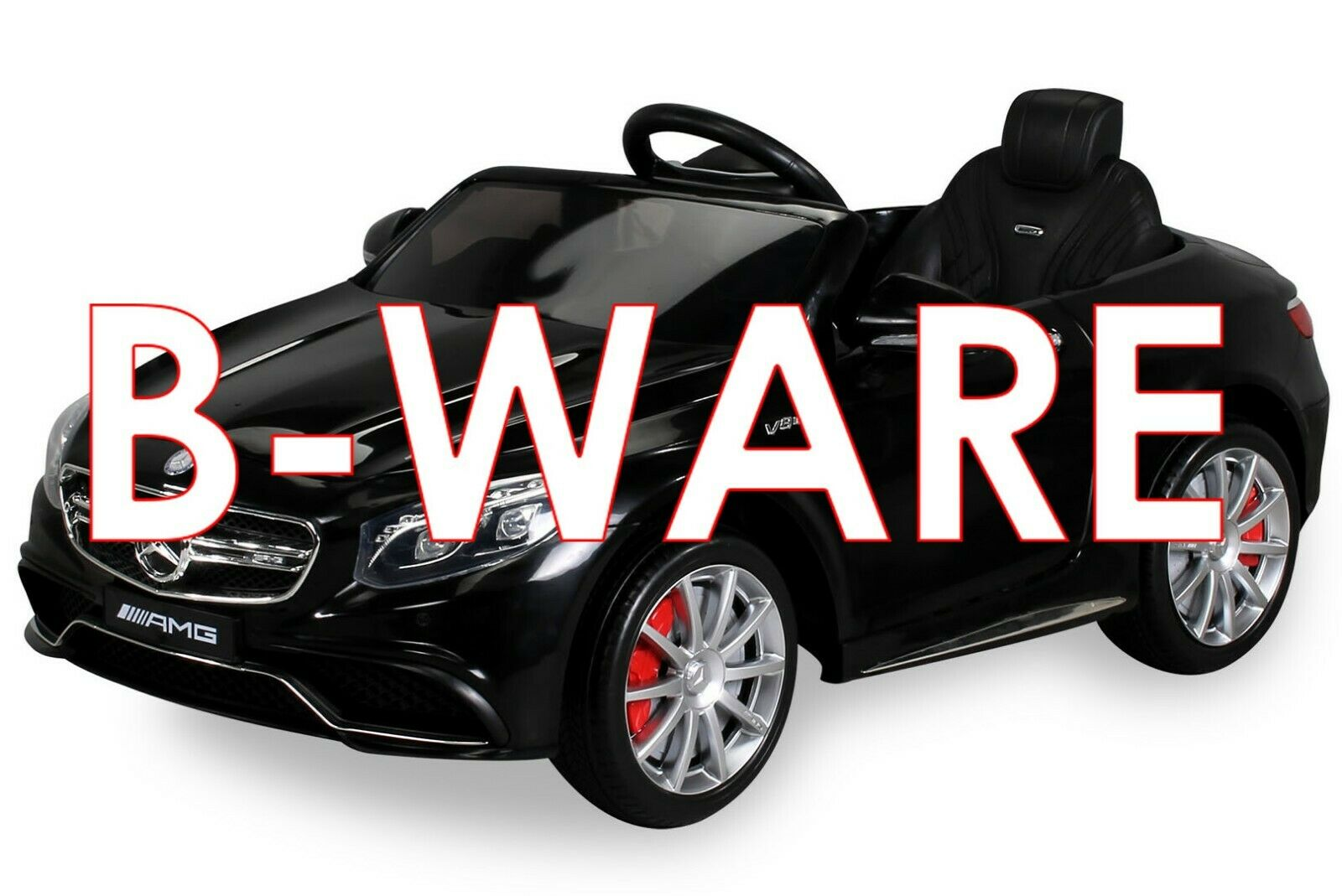 B-Ware Kinder Kinder Kinder Elektro Auto Mercedes Benz AMG S63 Kinderfahrzeug Elektroauto e66207