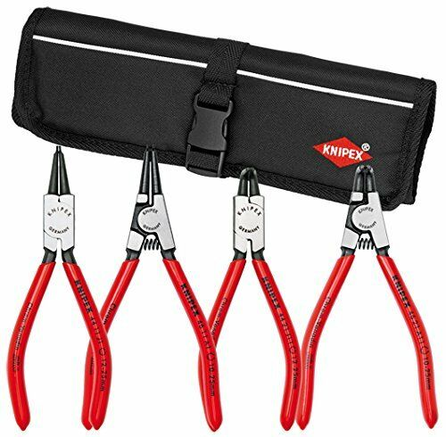 Knipex 9K-00-19-52-US Circlip Pliers Set in Pouch, 4 Piece
