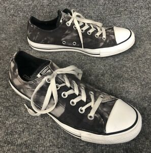 1b0cb76349a6a1 Converse All Star Chuck Taylor Low Top Sneakers Gray Tie Dye Mens 7 ...